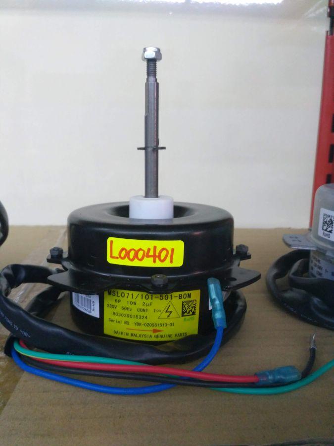 L000401 * FAN MOTOR MSL071-101-501 10W (2UF/440V)