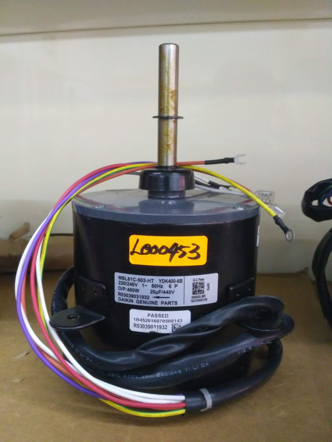 L000453 * MOTOR MSL61C-502 400W (20UF/440V)