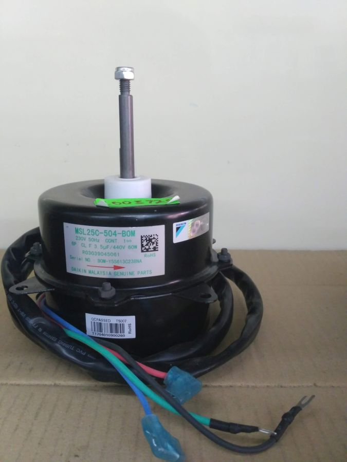 L003725 * MOTOR, MSL25C-504 6P 60W 1PH 230V (3.5UF/440V)