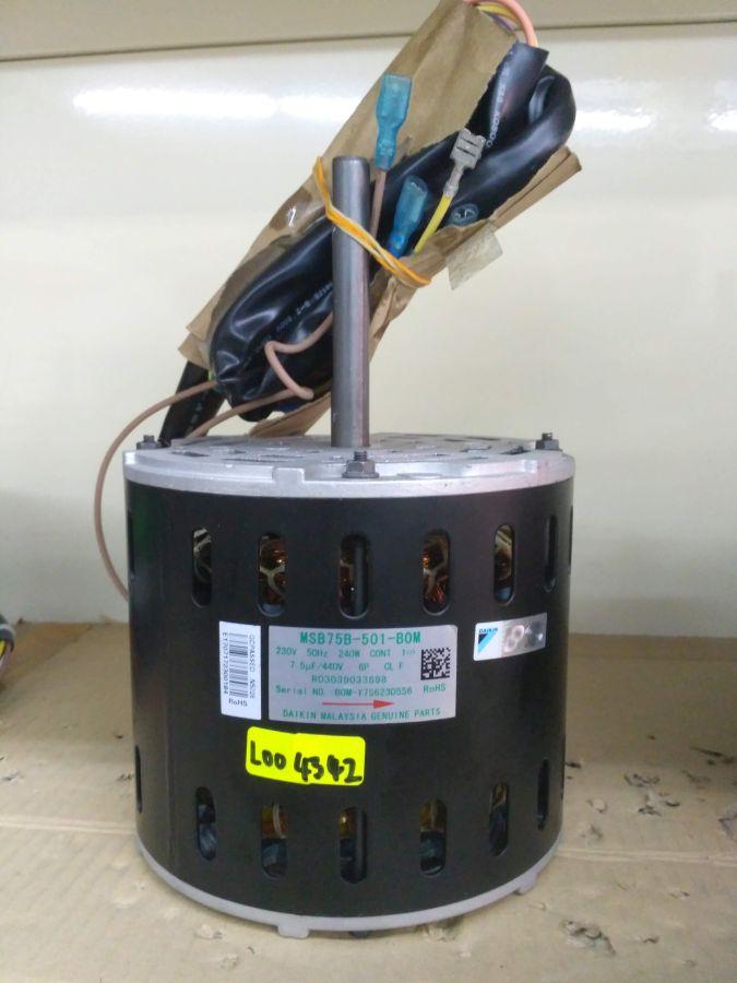 L004342 * MOTOR MSB75B-501 0.24KW ( Indoor Fan Motor)