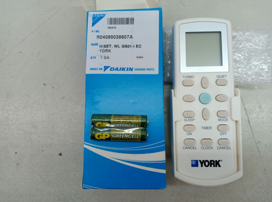 L000129 * Wireless Controller GS01-i YORK