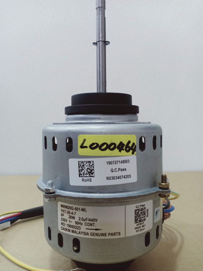 L000464 * MOTOR, MWM20G-501 20W (2UF/440V)