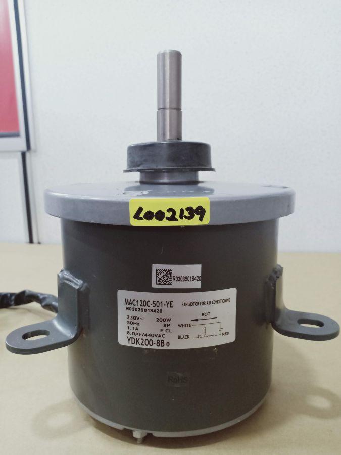 L002139 * MOTOR,YDK200-8X 8P 200W 1 PHASE (8UF/440V)