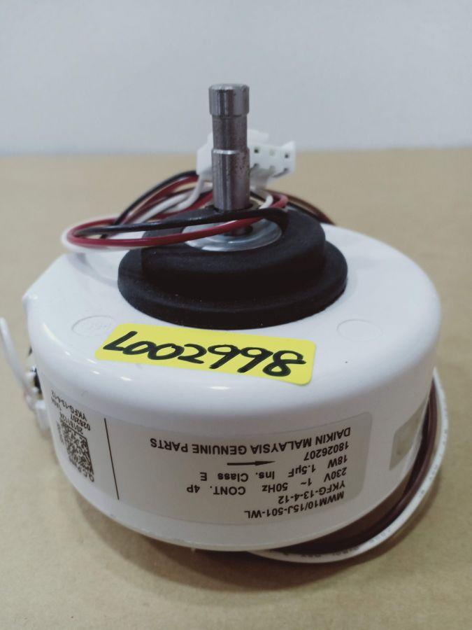 L002998 *MOTOR, MWM10/15J-501 4P 18W 1PH 230V