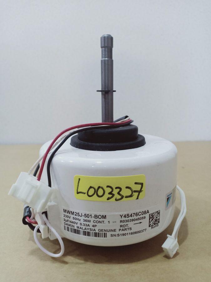 L003327 * MOTOR, MWM25J-501 4P 36W 1PH 230V