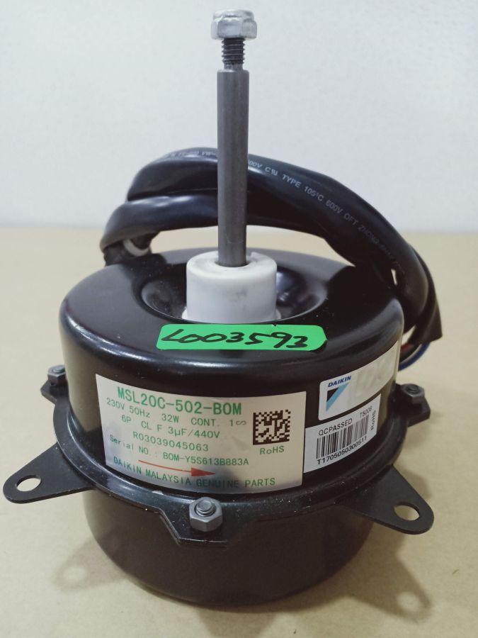 L003593 * MOTOR, MSL20C-502 6P 32W 1PH 230V (3UF/440V)